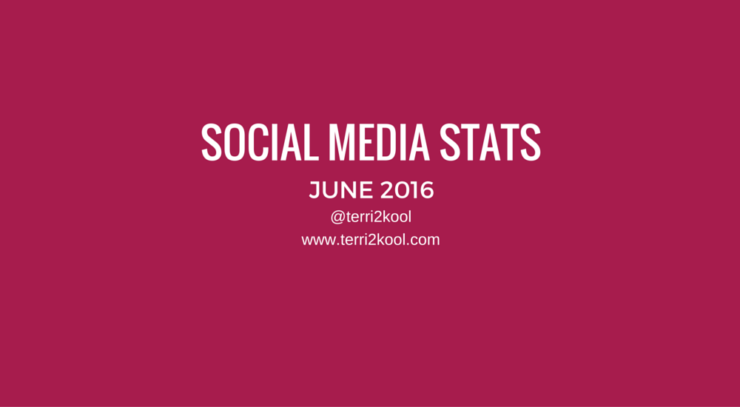 June 2016 Social Media Stats